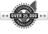 Over 25,000 Customers
